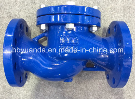 DIN3202 Cast Iron Lift Check Valve China pn16 pictures & photos