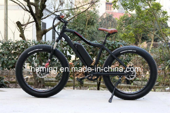 250W Powerful Brushless Motor Fat Tire Electric Bicycle pictures & photos