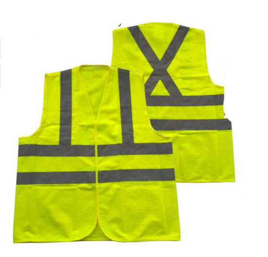Cheap Custom Hi-Vis Roadway High Visibility Reflective Warning Vest