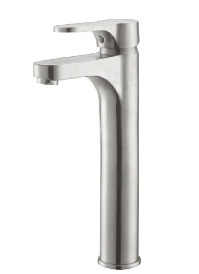 Delicate Bathroom/Bath Stainless Steel Basin Water Mixer
