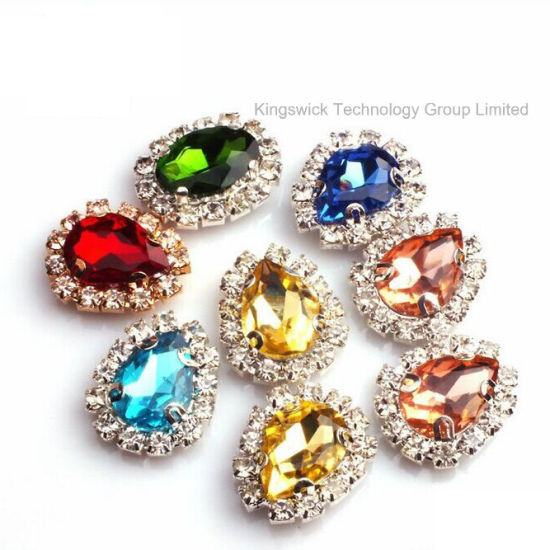 3c03846a1 Fancy Crystal Sew on Stones with Claw Setting Rhinestone pictures & photos