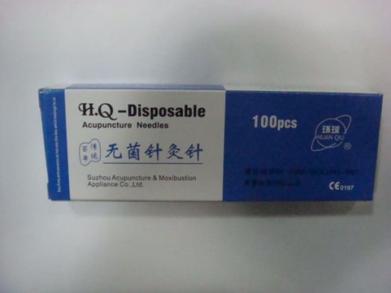 Huanqiu Brand Acupuncture Needle pictures & photos