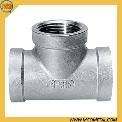Forged Stainless Steel Socket Weld Forged Tee Cl3000 Socket Tee ASME 16.11 Threaded/Socket Weld Tee /Pipe Fitting