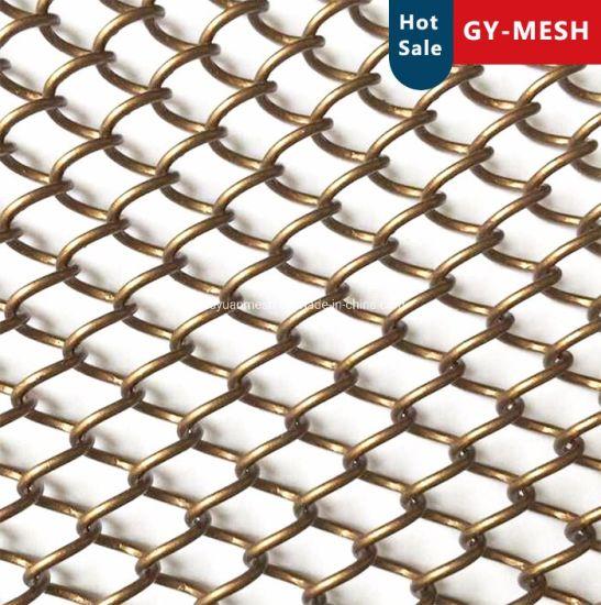 Decorative Mesh Aluminum Mesh Curtain Metal Coil Drapery Screen