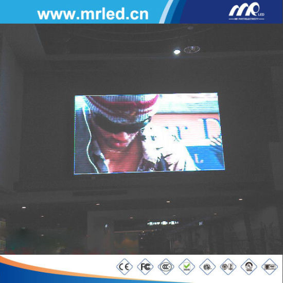 P7.62 Indoor Fixed LED Display Screen Area 10.7 Sqm pictures & photos