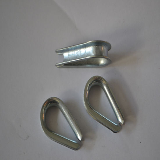 G411 Heat Treated Steel Wire Rope Thimble pictures & photos