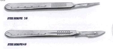 Surgical Blade with High Quality (QDMH-2032) pictures & photos