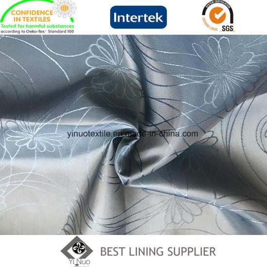 100% Polyester Men's Suit Jacquard Lining China Manufacturer