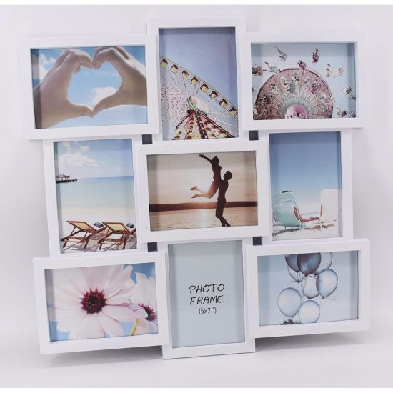 Plastic Collage Home Decoration Injection Picture Photo Frame pictures & photos