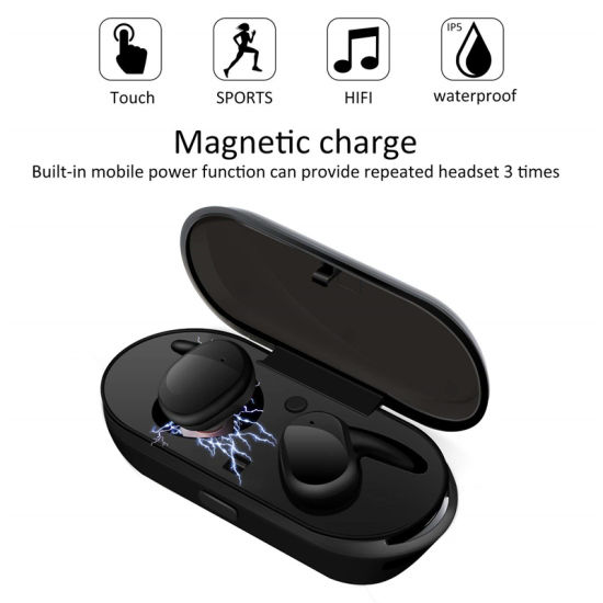 China Tws 4 Waterproof Bluetooth 5 0 Edr Sports Tws Earbuds Wireless Earphone China Headphones And Headphone Price