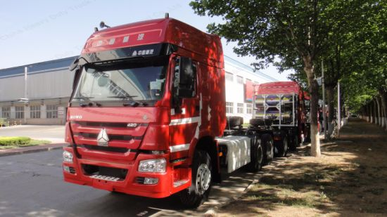 Sinotruk HOWO Rhd 6X4 420HP Heavy Tractor Truck/Head Truck Manufacturers pictures & photos