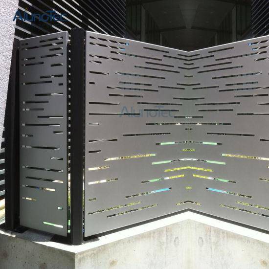 China Aluminum Metal Screen Perforated Panel Design