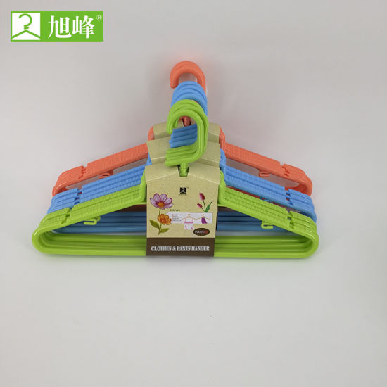 Wholesale Cheap Popular Plastic Clothes Hanger Cloth for Drying