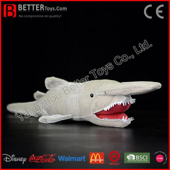 Goblin Shark Toys : China en stuffed animal plush goblin shark soft toy for