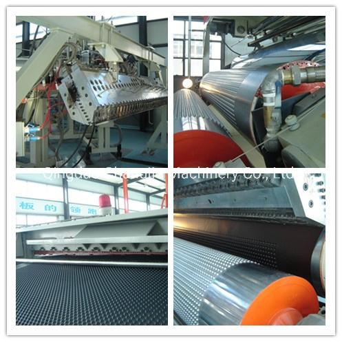 PE Composite Drain Board Machine/Panel Production Line / PE Drainage Board Extrusion Line