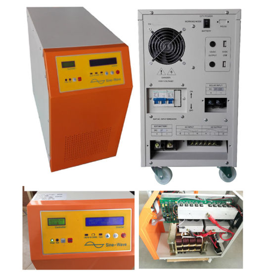 1kw 2kw 3kw Hybrid Inverter Systems Solar Power Inverter pictures & photos
