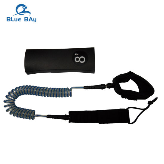 4/'// 5/'// 6/'// 8/'// 10/' Coiled   Surfboard Leash Stand UP Paddle Board Leash