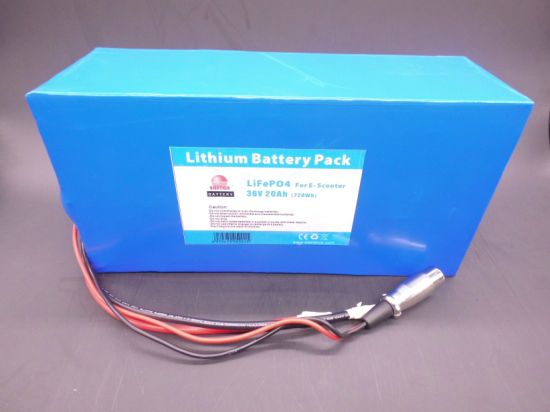 LiFePO4 Battery 36V 20ah for Skate Board pictures & photos