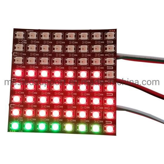 8X8 16X16 RGB Ws2812b LED DOT Matrix
