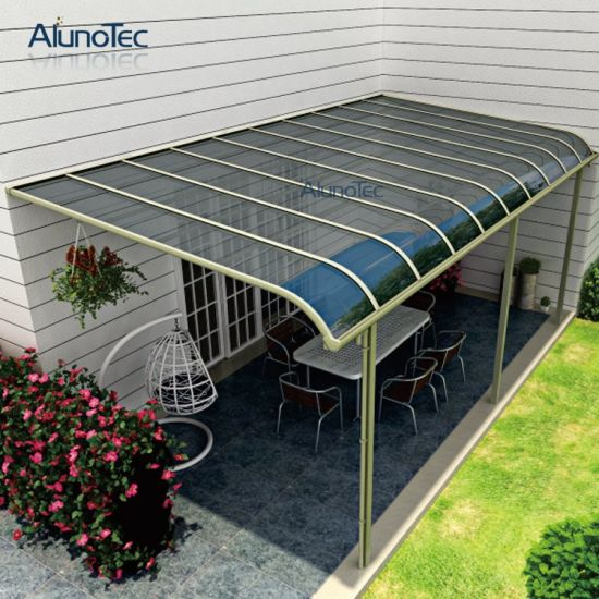 Aluminum Polycarbonate Balcony Patio Cover