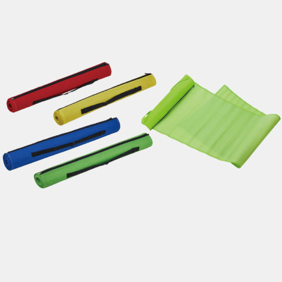 Foldable Rolling Straw Beach Mat Camping Mat Picnic Blanket Travel Blanket with Zipper Closure