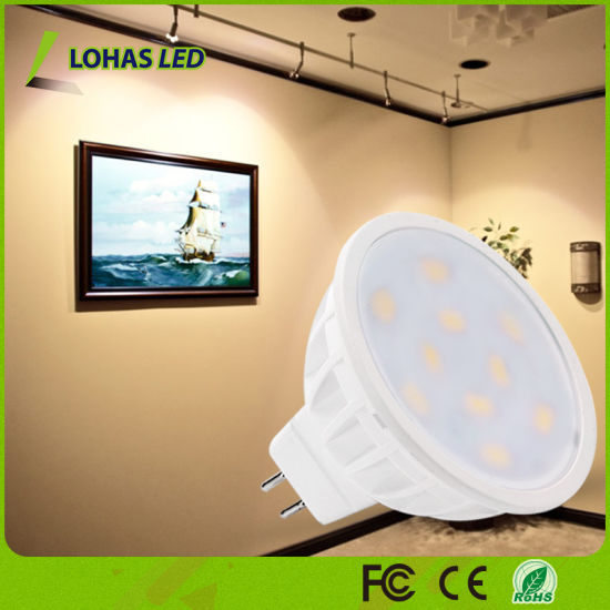 Dimmable GU10 MR16 6W 50W Halogen Equivalent Soft Warm White 3000K LED Spot Light pictures & photos