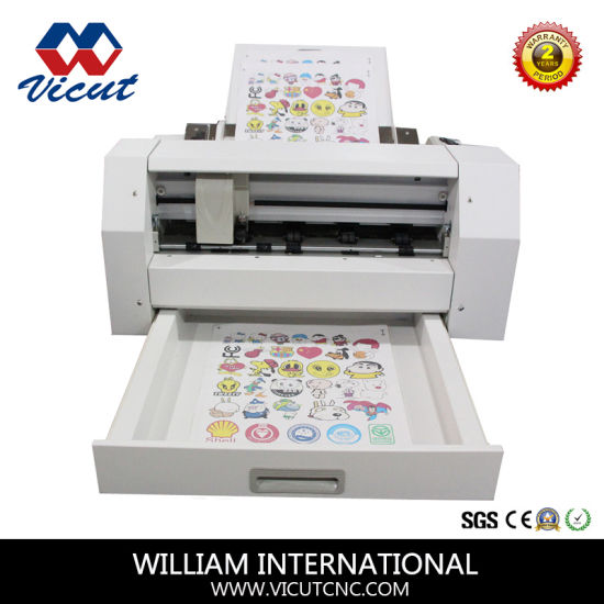 Professional sticker vinyl sticker half cutting machinery