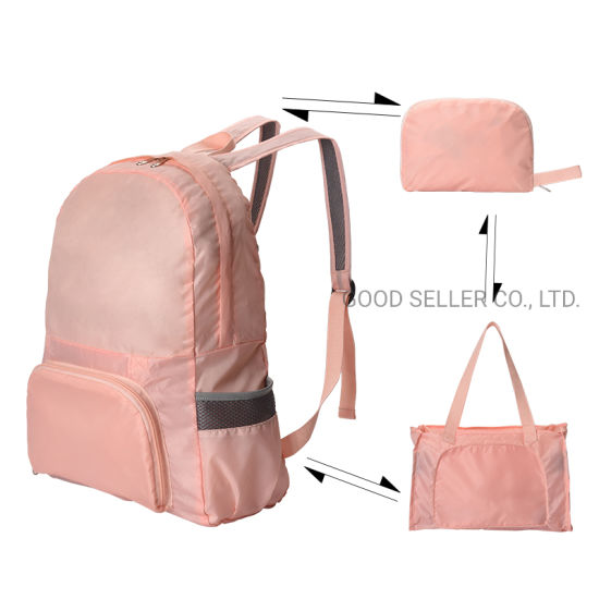 Dual-Purpose Ultra-Light Weight Foldable Travel Backpack