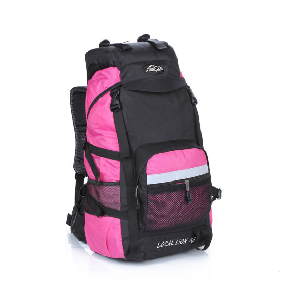 Hot New Products Fashion Waterproof Outdoor Camping Rucksack Men and Women Travel Bags Pack Climbing Mountain Hiking Backpack