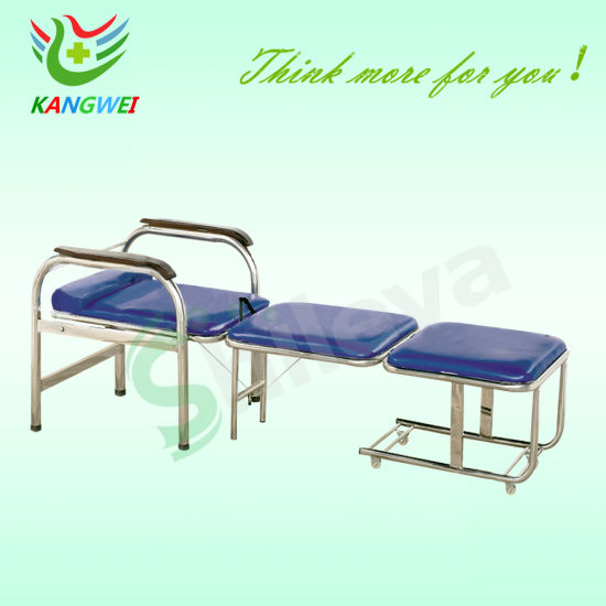 Hospital Furniture Sleeping Chair Folding Sleeping Accompany Chair