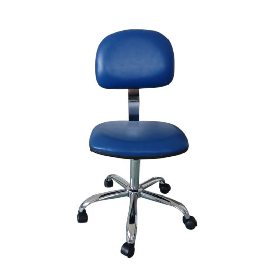 Cleanroom Ergonomic Swivel Industrial ESD Chairs pictures & photos