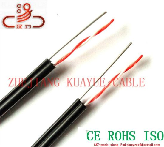 China Drop Wire Telephone Cable Outdoor Cable - China Drop Wire ...