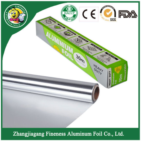 2018 New High Quality Diamond Aluminum Foil Small Roll for Food Package pictures & photos