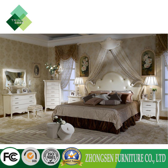 Professional Custom Made Elegant Country French Bedroom Set Under 1000 for  Sale
