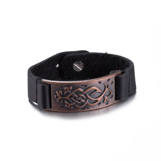 Real Leather Bracelet Jewelry Promotion Accessories
