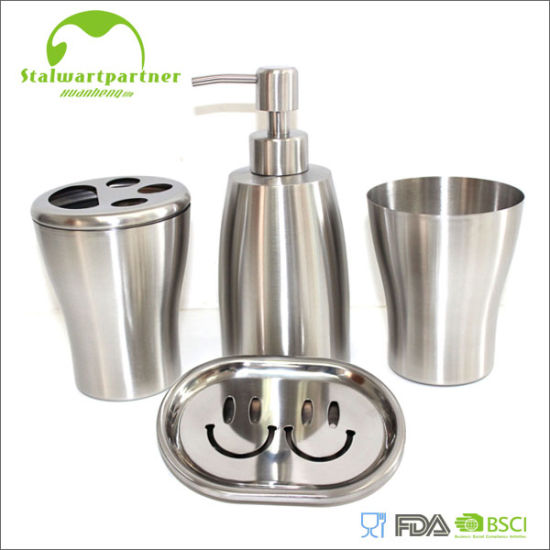 Stainless Steel Foam Soap Dispenser Set pictures & photos