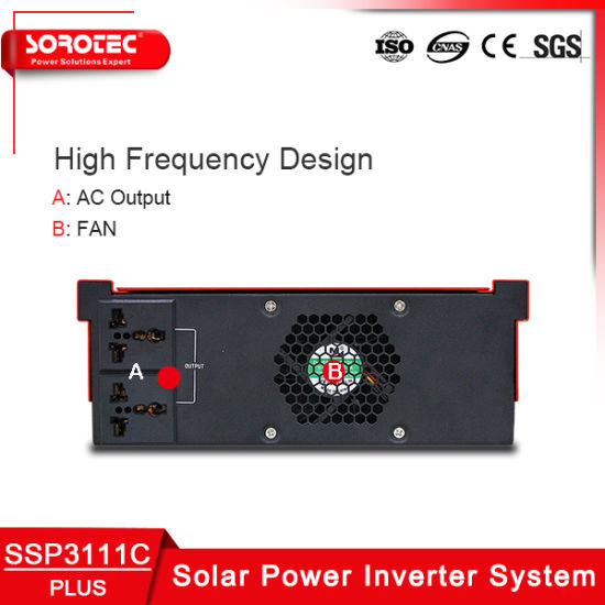 LCD Display China Manufacture Solar Inverter for Home Use pictures & photos