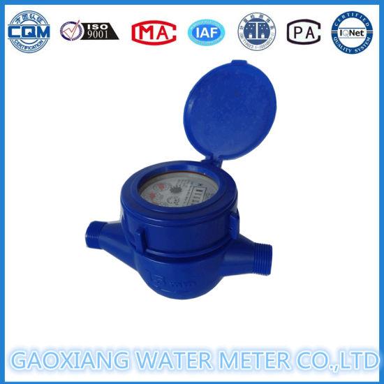 Multi Jet Dry Type Plastic ABS Water Meter