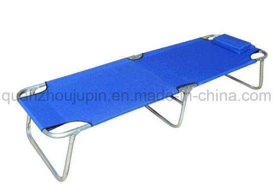 OEM Metal Outdoor Camping Office Folding Bed