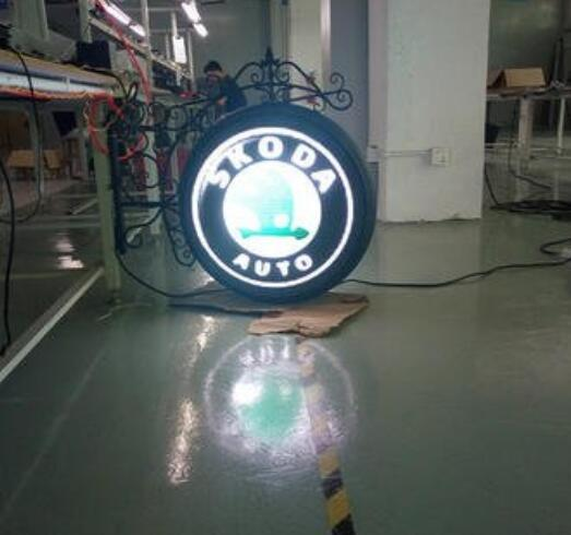 China Supplier High Quality Video Advertising Outdoor Round Screen Circle LED Display P10