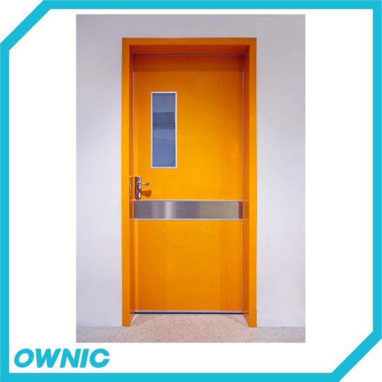 Clean Room Door with Hinge Patient Ward Medical Door