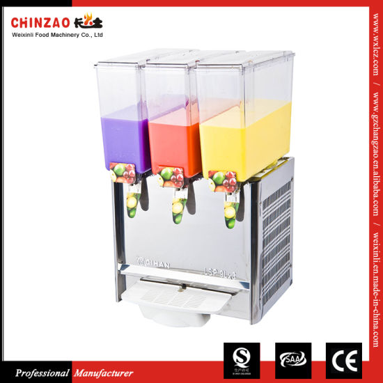 Cold Juice Dispenser with Mixing Pole Lsj-9L*3 pictures & photos