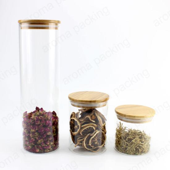 Transpa Glass Storage Jar With, Flour Storage Jars Glass