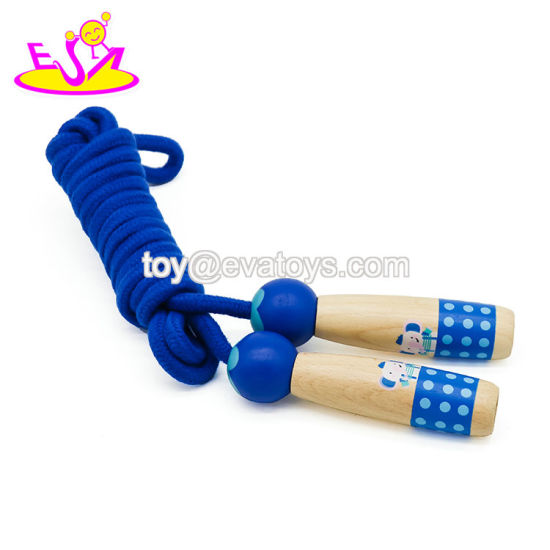 2019 Best Quality Speed Wooden Kids Jump Rope with Customize W01A328 pictures & photos
