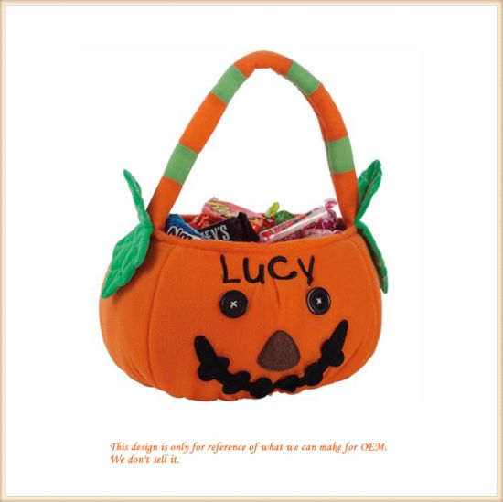 Halloween Trick Or Treat Bags Personalized.Personalized Plush Halloween Trick Or Treat Bag Plush Stuffed Toys