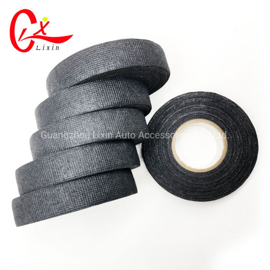 High Temperature Automotive Wiring Harness Cloth Tape Cable Connection on