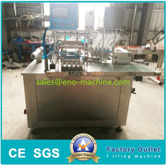 Fully Automatic Film PVA Gel Washing Detergent Powder Laundry Pod/Pouch/Capsule Packaging/Packing Sealing Machine