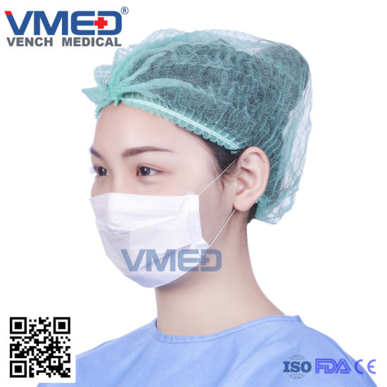 Protective Face Earloops safety Paper On paper tie Mask With hospital Facial medical Disposable Wear