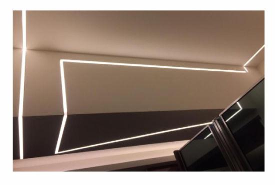Hot Sale GS2513 LED Aluminium LED Profile for LED Strip Osram Light Recessed
