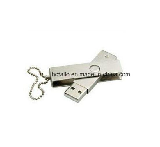 Metal Swivel USB Memory Disk